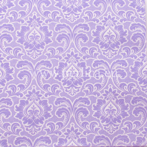 "Salveta ""Wallpaper patern lavander"" G15"