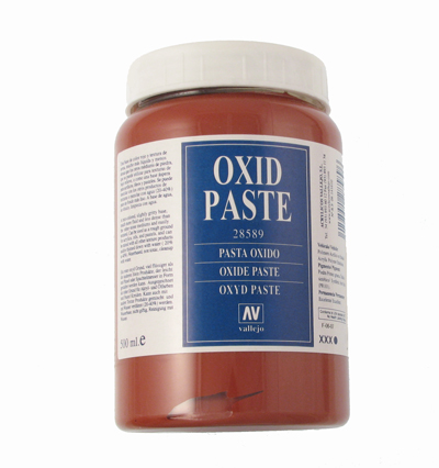 Red oxid pasta 500 ml