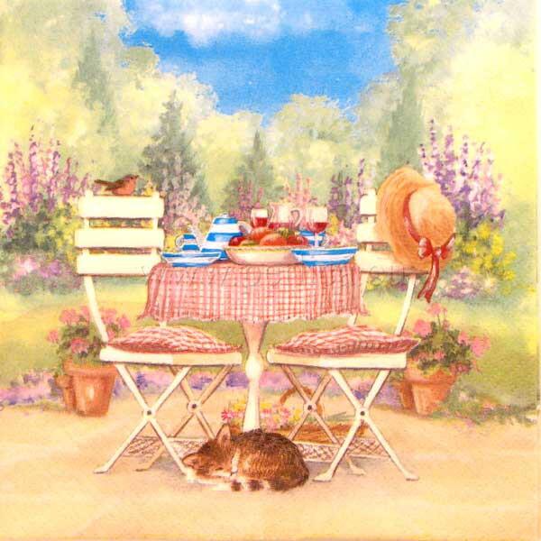 Salveta Lunch on a garden Table SP1