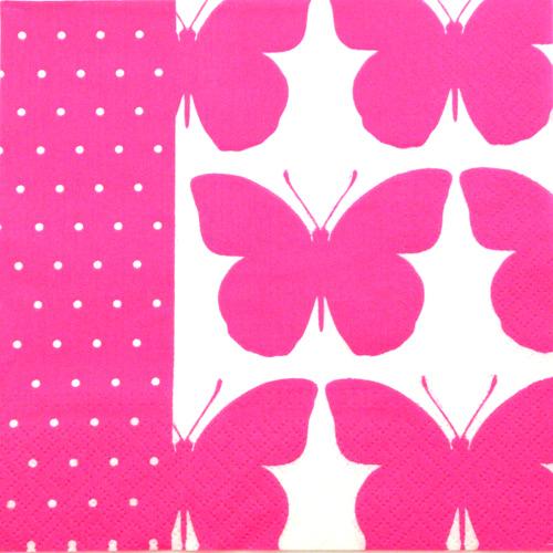 Salveta  Neon butterflies G27