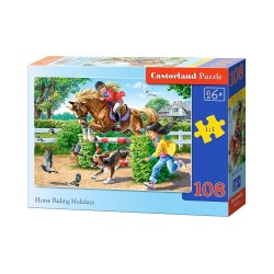 B-010165 puzzle midi 108 horse riding holidays