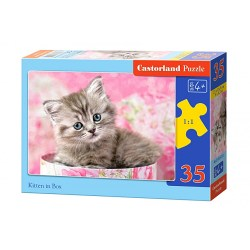 B-035212 PUZZLE MIDI 35 EL. KITTEN IN BOX