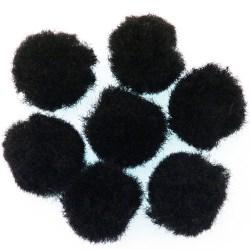 Pomponi-crni