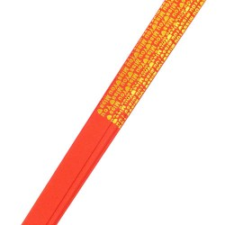 Quilling-Good-luck-red-orange