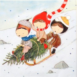 Salveta-djecica-se-sanjkaju