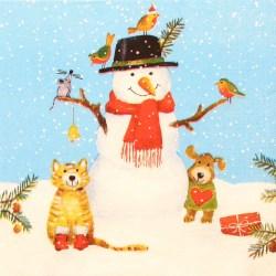 Salveta-snijegovic-i-zivotinje