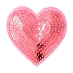 Zakrpa-srce-roza