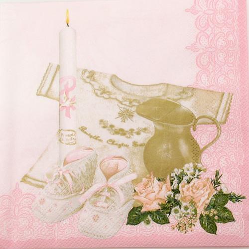 Salveta Krštenje roza D14